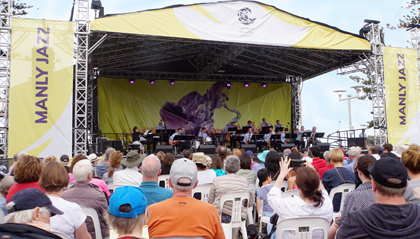 Big Wing at 40th Manly Jazz Festival1