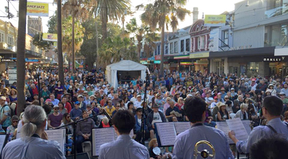 Big Wing at 40th Manly Jazz Festival4