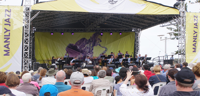 Big Wing at Manly Jazz Festival 2017