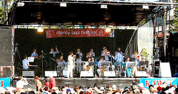 Big Wing at 30th Manly Jazz festival
