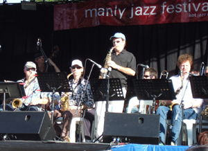 Andrew Speight at Manly Jazz Festival